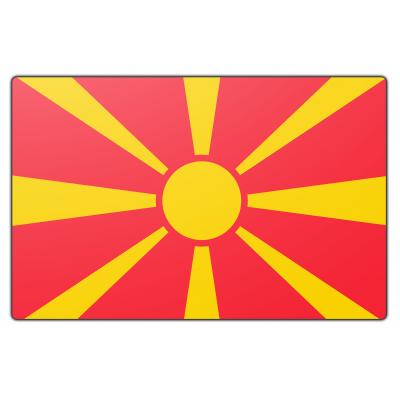 Macedonië vlag (200x300cm)