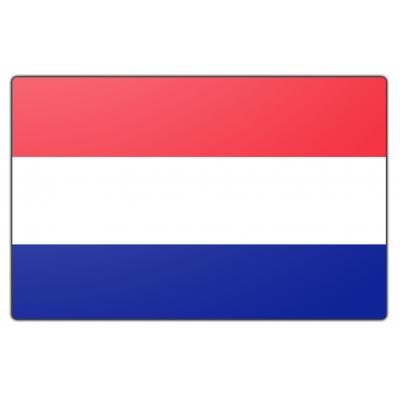 Nederland vlag (225x350cm)