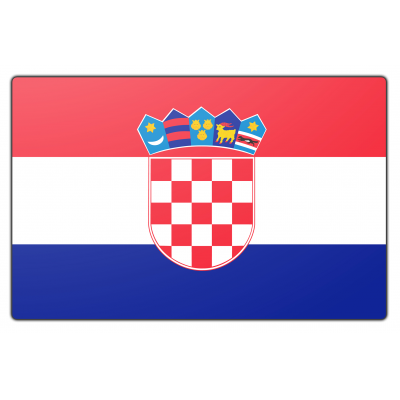 Kroatië vlag (100x150cm)