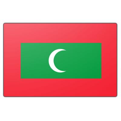 Malediven vlag (70x100cm)