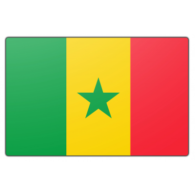 Senegal vlag (200x300cm)
