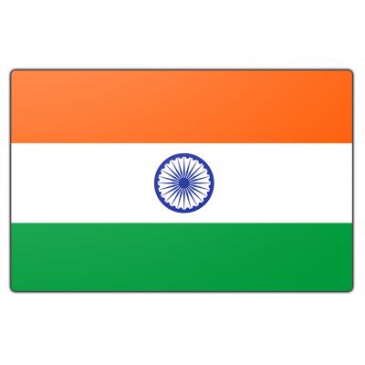 India vlag (100x150cm)