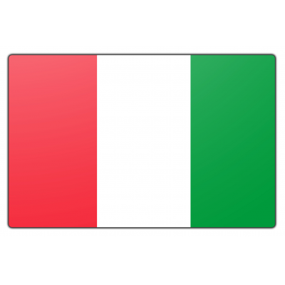 Italië vlag (200x300cm)