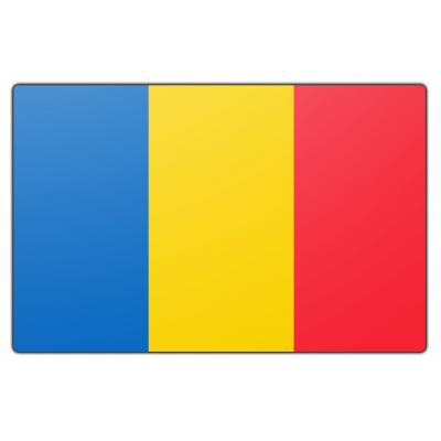 Tsjaad vlag (70x100cm)