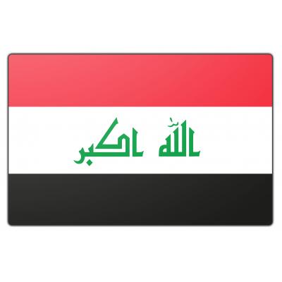 Irak vlag (70x100cm)