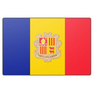 Andorra vlag (70x100cm)