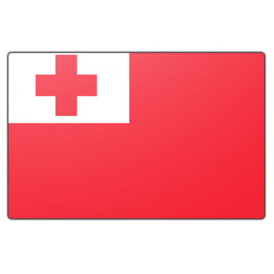 Tonga vlag (150x225cm)