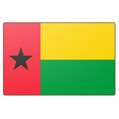 Guinee Bissau vlag (200x300cm)