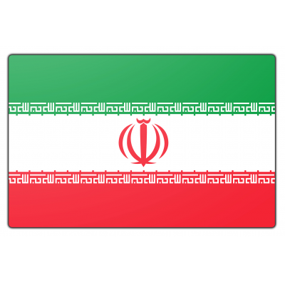 Iran vlag (200x300cm)