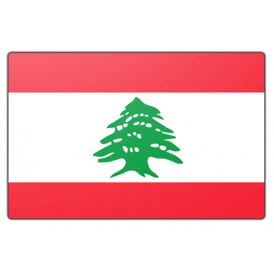 Libanon vlag (200x300cm)