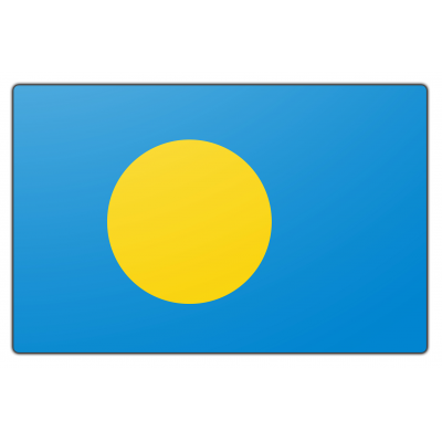 Palau vlag (150x225cm)