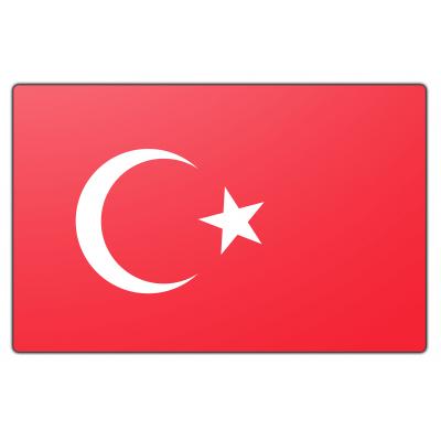 Turkije vlag (70x100cm)