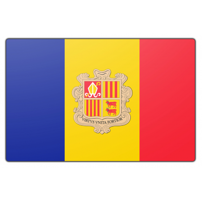Andorra vlag (100x150cm)