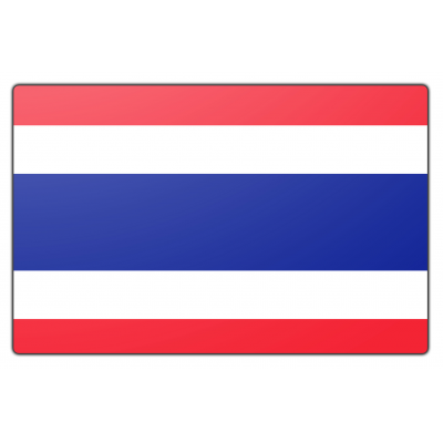 Thailand vlag (200x300cm)