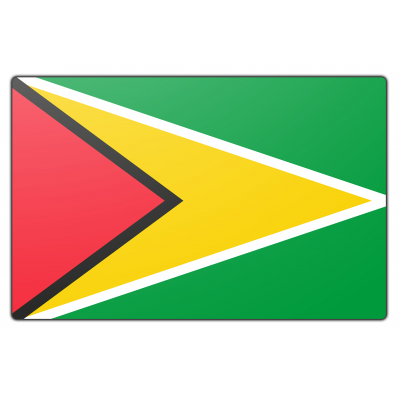 Guyana vlag (200x300cm)