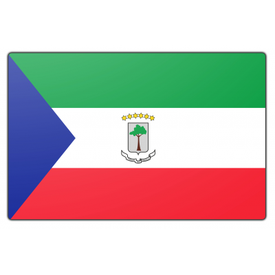 Equatoriaal Guinee vlag (200x300cm)