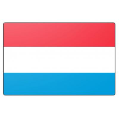Luxemburg vlag (200x300cm)