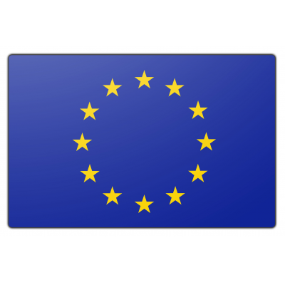 Europese unie vlag (70x100cm)