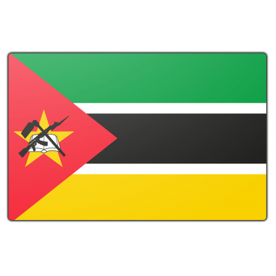 Mozambique vlag (70x100cm)