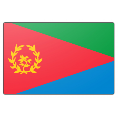 Eritrea vlag (70x100cm)
