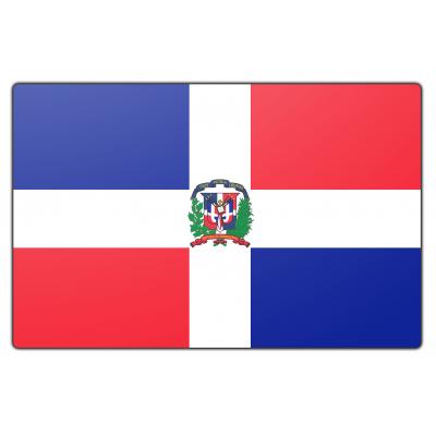 Dominicaanse Republiek vlag (100x150cm)