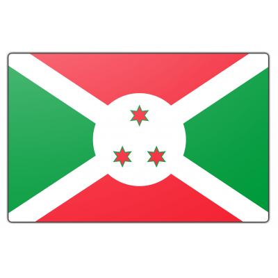 Burundi vlag (200x300cm)