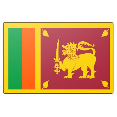 Sri Lanka vlag (150x225cm)