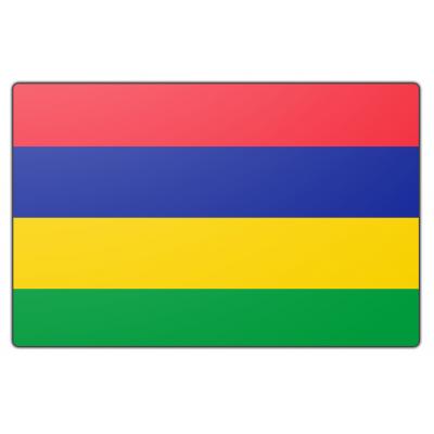 Mauritius vlag (200x300cm)