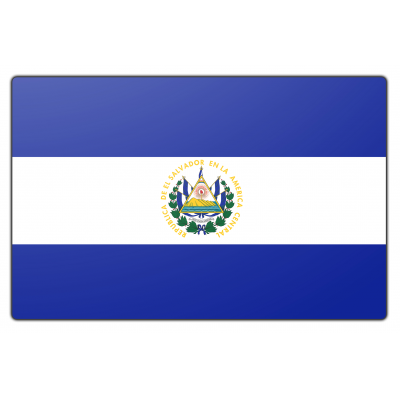 El Salvador vlag (70x100cm)
