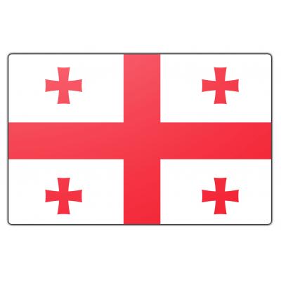 Georgië vlag (70x100cm)