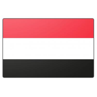 Jemen vlag (70x100cm)