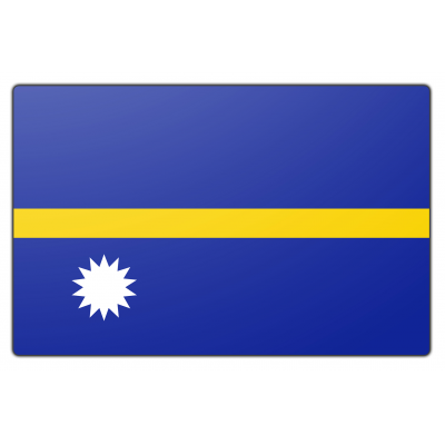 Nauru vlag (70x100cm)