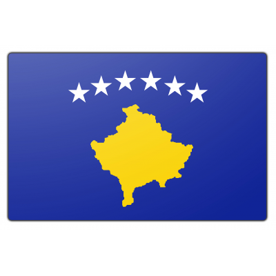 Kosovo vlag (100x150cm)