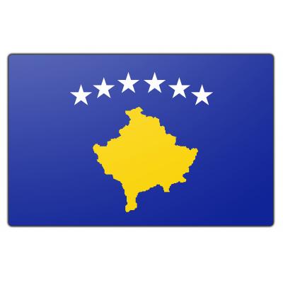 Kosovo vlag (150x225cm)