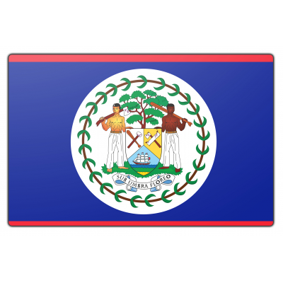 Belize vlag (200x300cm)