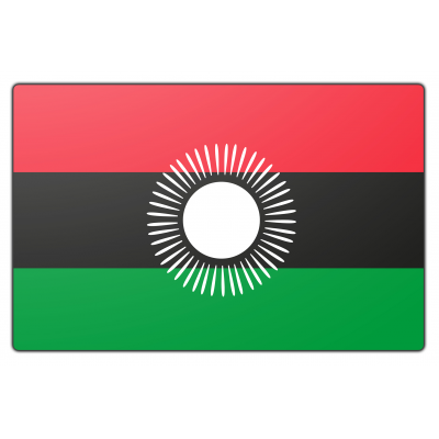 Malawi vlag (100x150cm)