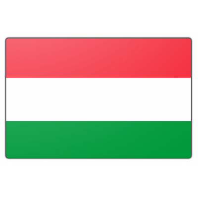 Hongarije vlag (70x100cm)