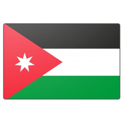 Jordanië vlag (70x100cm)