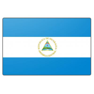 Nicaragua vlag (70x100cm)