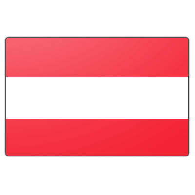 Oostenrijk vlag (70x100cm)