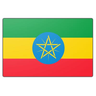 Ethiopië vlag (100x150cm)