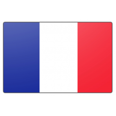 Frankrijk vlag (150x225cm)