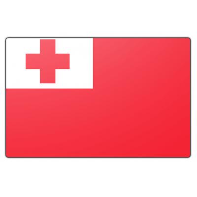 Tonga vlag (70x100cm)