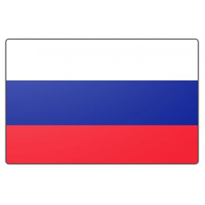 Rusland vlag (70x100cm)