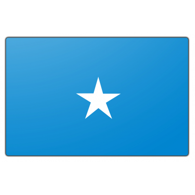 Somalië vlag (200x300cm)