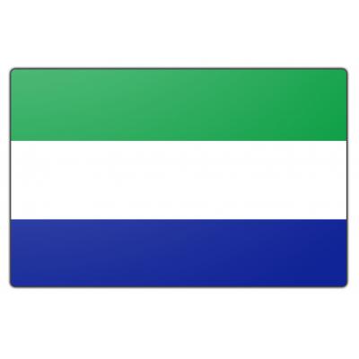 Sierra Leone vlag (150x225cm)