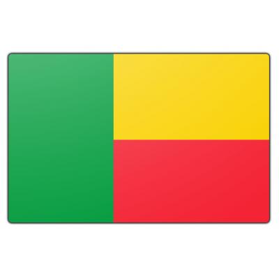 Benin vlag (70x100cm)