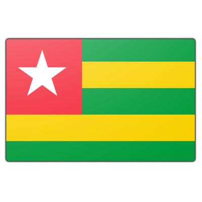 Togo vlag (200x300cm)