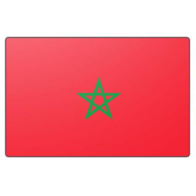 Marokko vlag (200x300cm)