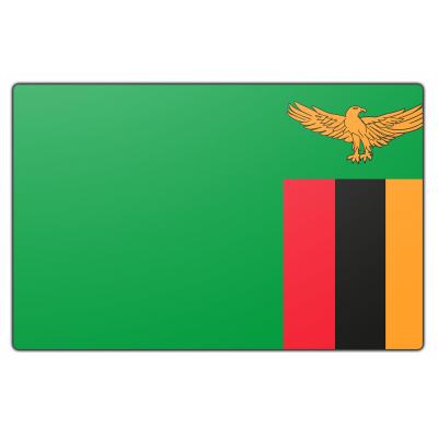 Zambia vlag (150x225cm)